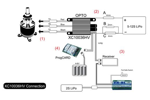 opto esc wiring diagram dualsky dragonrc xc10036hv v2  100 amps output  5 12s  dualsky dragonrc xc10036hv v2  100 amps output  5 12s