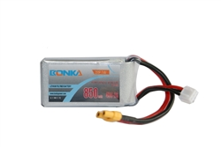 DragonRC-Banka Power 2S 45C 850mah battery