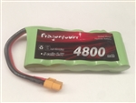 DragonPower 6.0v 4800mAh Ni-MH Receiver/power Pack with XT60 Connector