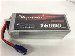 DragonRC - DragonPower 6S 25C 16000mah battery