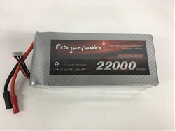 DragonRC - DragonPower 6S 25C 22000mah battery