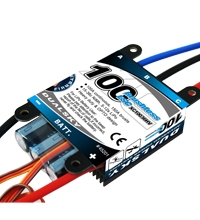 DualSky XC10036HV-V2, 100 amps output, 5-12s Lipo supported, OPTO isolation. Suitable for FAI 2 meters F3A or F3C.