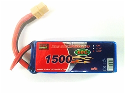 DragonRC-Enrich Power 4S 60C 1500mah battery with New Nano Conductive technology