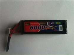 DragonRC-Enrich Power 5S 35C 6000mah battery with New Nano Conductive technology