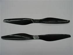 High Quality T-Motors Style Carbon Fiber Propellers Pair 15x5