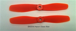 DragonRC -  Gemfan Bullnose 5045 Orange Nylon Glassfiber Multirotor Prop Pair (CW/CCW)