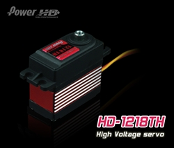 Digital High Voltage Servo Power HD-1218TH