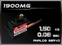 DragonRC-Power HD-1900MG Metal Gear Analog Servo