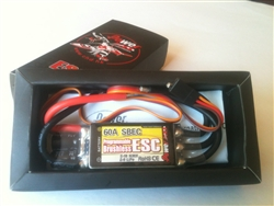 DragonRC -  Power HD 60A SBEC ESC for Plane/Heli