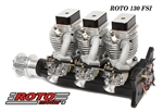 ROTO 130 FSI - four stroke inline gasoline RC airplane engine