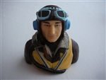 TopRCModel - DragonRC 1/5 Scale WWII  British Pilot Bust