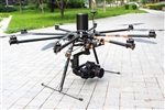 DragonRC-ZeroUAV E1100-V2 Octo Copter, Gemini Dual Redundance Auto Pilot and Brushless Camera Gimbal