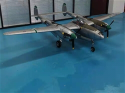 DragonRC Model 1:511 Scale Lockheed P-38 Lightning Full Composit ARF Kit