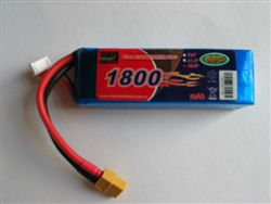 DragonRC-Enrich Power 4S 60C 1800mah battery with New Nano Conductive technology